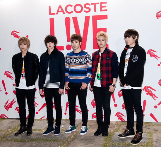 Lacoste L!ve Winter Wonderland Party