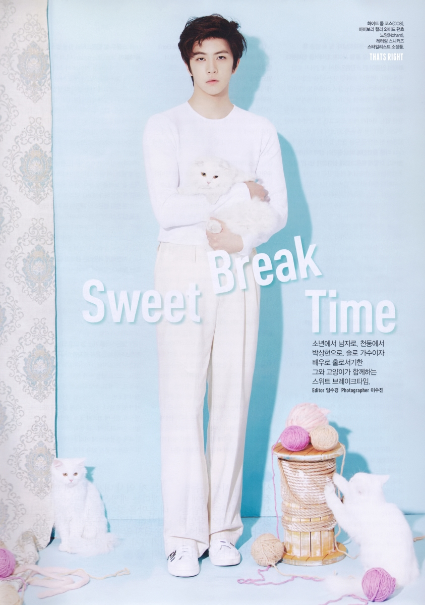 (Updated!) Cheondung in CeCi Korea April 2015 issue