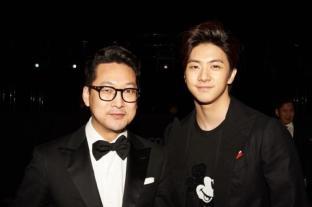 With Alan Nam